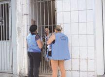 agentes de saúde vão percorrer as ruas do bairro Inamar, Paulina e Jardim Ruyce com objetivo de identificar quem ainda não tomou a vacina. Foto: Divulgação/PMD