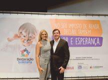 """Carla e Orlando Morando: """" As pessoas precisam saber que podem ajudar as instituições"""". Foto: Gabriel Inamine/PMSBC"""