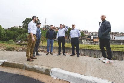 Prefeitura de São Bernardo entrega obras de  revitalização viária no Silvina