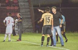 Wilson Júnior vê os rivais mais preparados contra o Tigre. Foto: Anderson Lira/São Bernardo FC