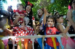 Identificação e cuidados com a saúde garantem carnaval tranquilo para crianças