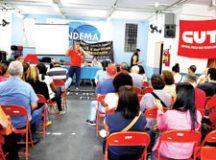 Categoria pede reajuste de 10%, sendo 2% de aumento real. Foto:  Divulgação Sindema/Mauro Lico