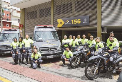 São Caetano lança SOS Cidadão 156  para agilizar atendimentos de urgência