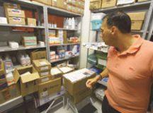 Atila visitou UPAs e levou  cesta básica de medicamentos. Foto: Roberto Mourão/PMM