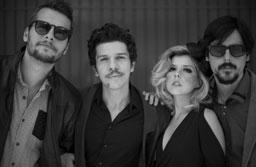 A banda Vanguart, com mais de 10 anos de estrada e destaque no cenário indie brasileiro, colecionando vários prêmios, estará no Teatro Lauro Gomes. Foto: Divulgação