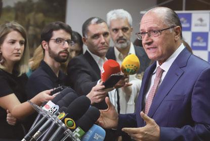 Alckmin rebate delator e contesta acerto de caixa dois com Odebrecht