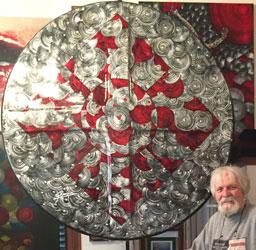 Exposição Disciforme, Giuseppe Ranzini, entra em cartaz na Pinacoteca de São Bernardo