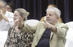 a Polícia Federal mentiu quando fez o inquérito, o Ministério Público Federal mentiu quando fez a acusação, o [juiz Sergio] Moro mentiu quando me condenou. Foto: Thiago Bernardes/FramePhoto/Folhapress