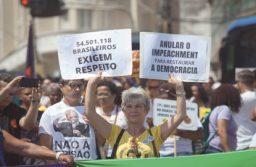 Participantes do Fórum Social fizeram ato contra o assassinato. Foto:  Fernando Vivas/Folhapress