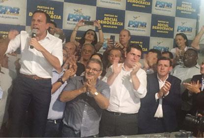Prefeito João Doria lança  pré-candidatura a governador