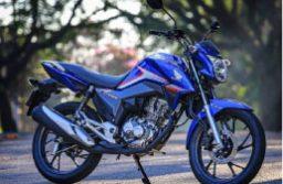 Honda CG 160 Titan é um dos modelos envolvidos no recall. Foto: Divulgação/Honda