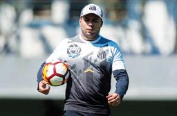 Jair Ventura faz mistério na estreia do Santos no Brasileirão contra o Ceará