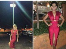 Flavia Alessandra empresta vestido à seguidora do Instagram. Reprodução/Instagram