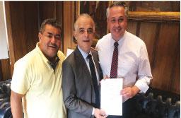 Marcos Michels solicita instalação de AME no Quarteirão da Saúde