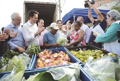 Projeto Moeda Verde já distribuiu 400 kg de alimentos em S.André