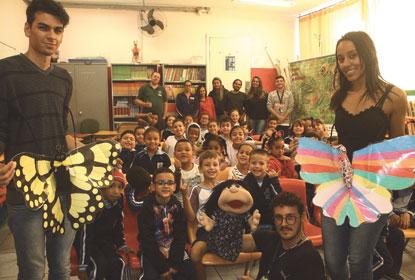 Borboletário de Diadema leva projeto 'Natureza Viva' às escolas