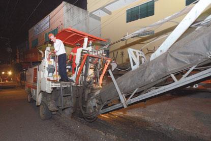 Em São Bernardo, 22 ruas do Jardim das Orquídeas vão ganhar recapeamento até julho