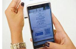 Conta de saneamento de S.André inclui o QR Code do Semasa Mobile