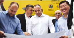 R.Pires inicia revitalização da Avenida Kaethe Richers