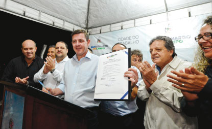Prefeitura anuncia reforma em ginásio e nova Praça-Parque no Jd. das Orquídeas