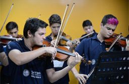Primeira parte do projeto prevê levantamento e cadastro de grupos musicais com potencial para o Orquestrando. Foto: Tomaz Silva/Arquivo/Agência Brasil