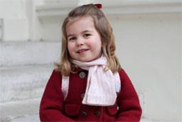 Princesa Charlotte será daminha do casamento de Harry e Meghan Markle
