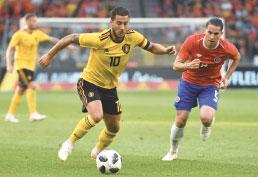 Bélgica leva susto, mas goleia adversária do Brasil em último teste