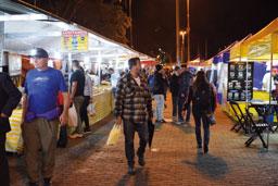 Feira Noturna de Diadema une praticidade, lazer e gastronomia