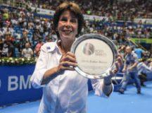 Maria Esther conquistou 19 títulos de Grand Slam. Foto: Arquivo