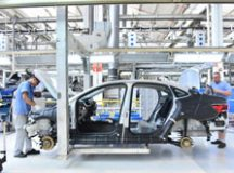 Produção de veículos aumentou 4,7% em abril e puxou o resultado geral. Foto: Arquivo