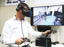 Simulação virtual é um dos pilares da Indústria 4.0. Foto: Divulgação/VW