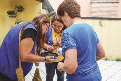 Com apoio do Tiro de Guerra, Prefeitura de São Caetano realiza mutirão de combate ao mosquito da dengue