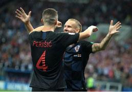 Croácia bate Inglaterra e fará final inédita