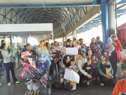 Mães fazem ato em apoio à amamentação em Santo André