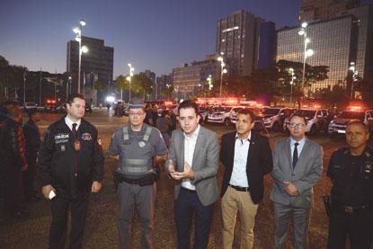 Operação integrada coloca forças policiais nas ruas de Santo André