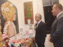 Márcio França e Kiko, durante visita à sede do Fundo Social de Solidariedade. Foto: Divulgação/PMETRP