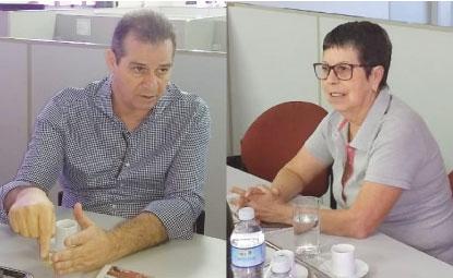 Luiz Fernando e Ana do Carmo farão dobrada