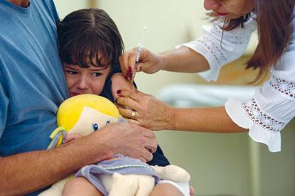 Estado antecipa e campanha de vacinação contra sarampo e poliomielite começa hoje