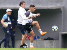 Cuca escalou Yuri Alberto no ataque santista. Foto: Ivan Storti/Santos FC