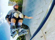 """Eraldo Bonilha: """"Sempre gostei de patins, quando adolescente pratiquei diversos esportes, mas patinar era o que me deixava mais feliz"""". Foto: Divulgação"""