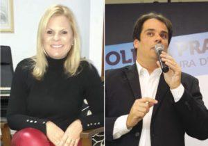 Carla Morando e Fabio Palacio anunciam dobrada em S.Caetano