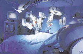 Com 40 unidades, o robô-cirúrgico é utilizado em dez estados brasileiros. Foto: Reprodução