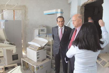 CPI da Assembleia Legislativa realiza vistoria no Hospital Radamés Nardini