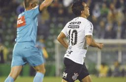 Jadson marcou o gol da vitória corintiana aos 38 minutos da etapa final. Foto: Renato Padilha/ Mafalda Press/Folhapress