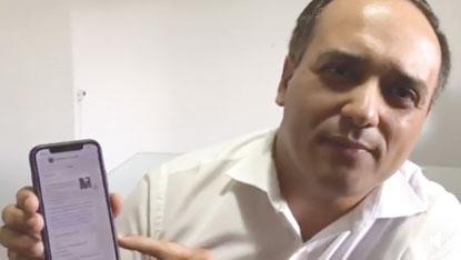 Em vídeo, Marcelo Lima nega acusação de pagar propina por apoio político
