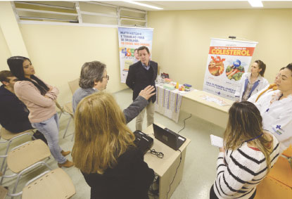 No Dia Nacional de Combate ao Colesterol, São Bernardo promove ações de conscientização