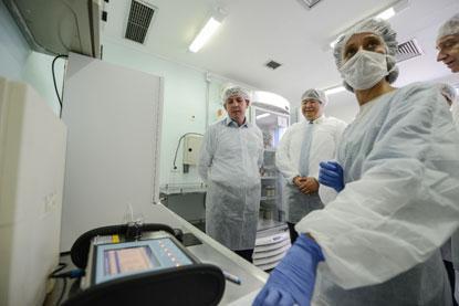 HMU de São Bernardo ganha equipamento que atesta qualidade do leite materno