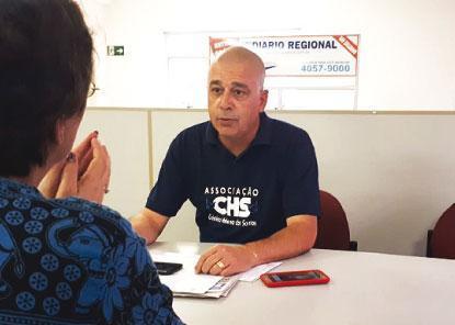 Vereador Boquinha promove a política do bem