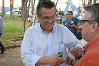 Concorrendo a senador,  Marcelo Barbieri defende a reforma tributária na saúde