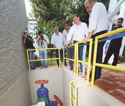 Sabesp inaugura mini-hidrelétrica em São Bernardo
